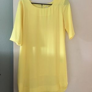 Yellow Dress Vici size Medium NWT Collective conce
